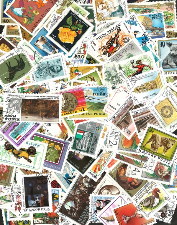 Známky Maďarsko balíček 300 ks rôznych obrázkových
