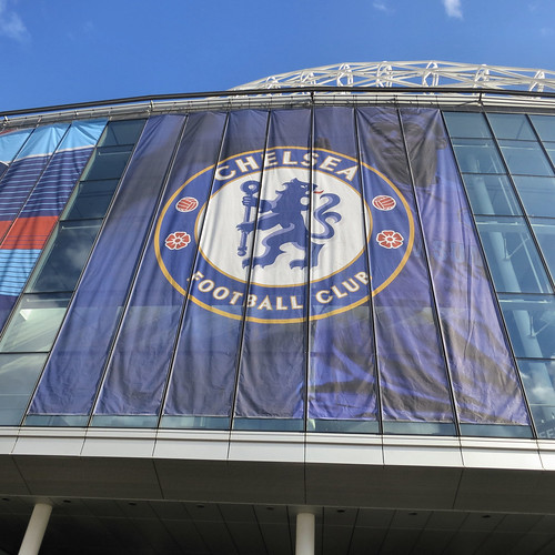 Chelsea F.C. banner at Wembley stadium. | by (Mick Baker)rooster