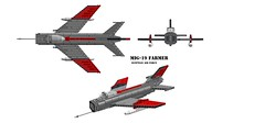 MiG-19 Farmer by Nic-Fit