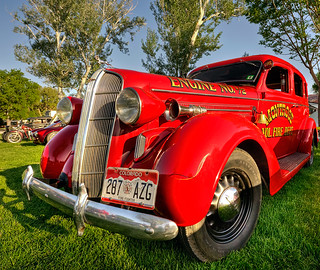 Engine 72 | by Merilee Phillips