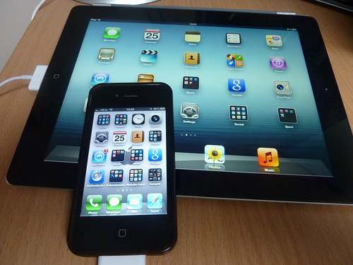 iPad and iPhone | by Sean MacEntee