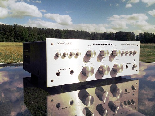1971 Marantz 1060 Integrated Solid State Amplifier | by BigBlackLincoln