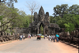 Approach to Angkor Thom | by Boots in the Oven