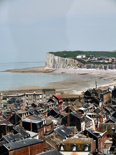 Normandy | Town & White Cliffs | by Can Burak