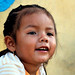 Restless little girl named Lupita | Mayan Colonies | Quintana Roo | Mexico