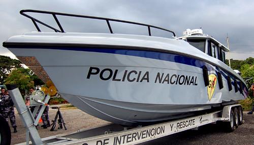 Ministro del interior denuncia presunto sabotaje en bote m for Ministerio del interior policia nacional del ecuador
