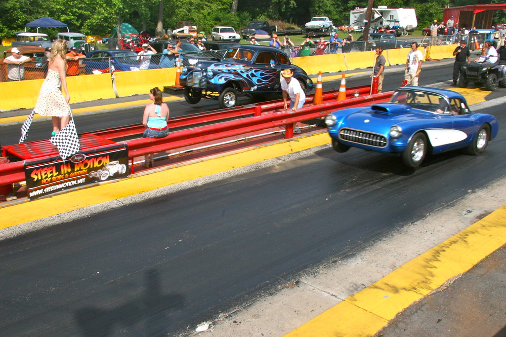 Steel drag strip