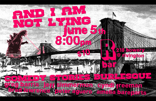 And I Am Not Lying at R Bar 6.5.2012 | by Jeff.Simmermon