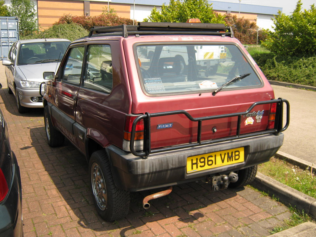 April 1991 fiat panda sisley 4x4 999cc h961vmb for Fiat panda 4x4 sisley usata