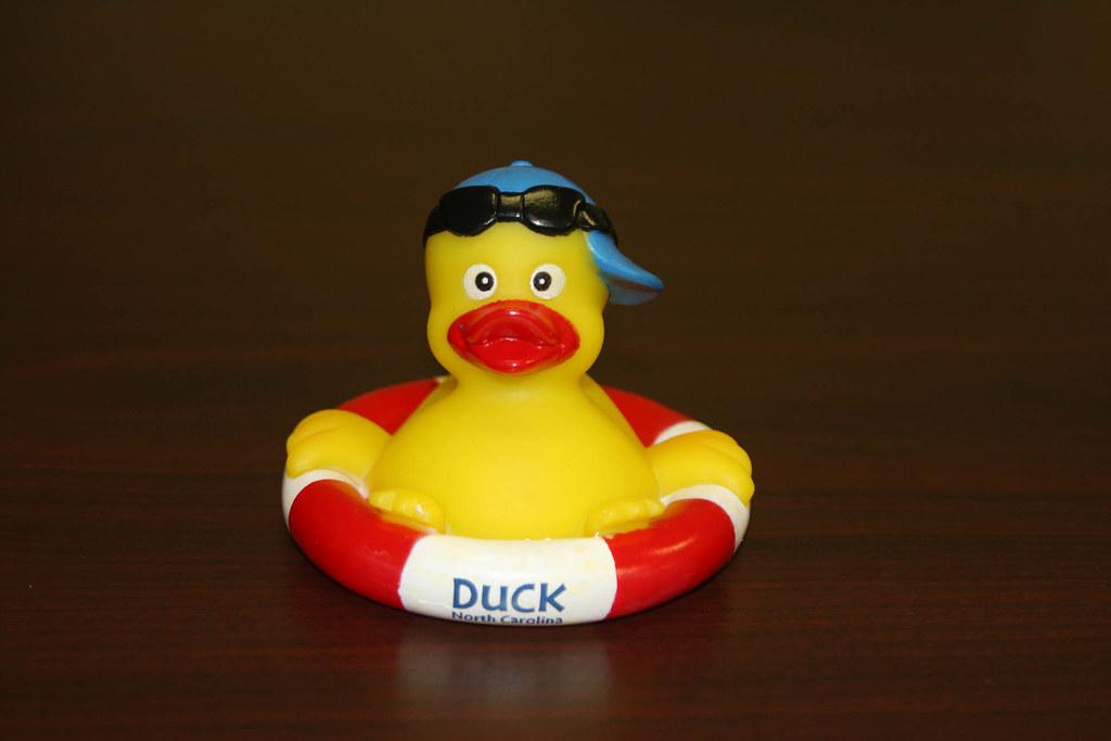 Duck, North Carolina Rubber Duck   $3. Call (252) 255-1234, …   Flickr