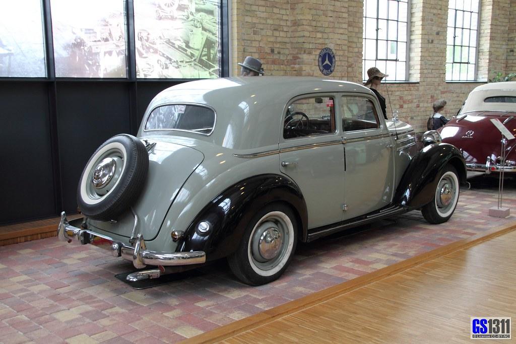 1953 - 1955 Mercedes-Benz W 136 (170 S-D) | The Mercedes ...