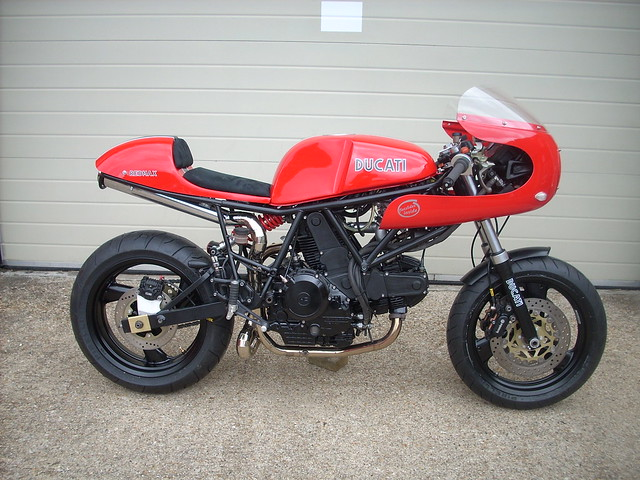 Finance Ducati Cafe Racer