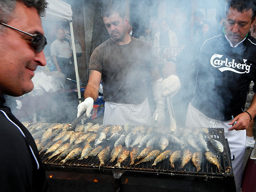 Italian Days means grilled sardines