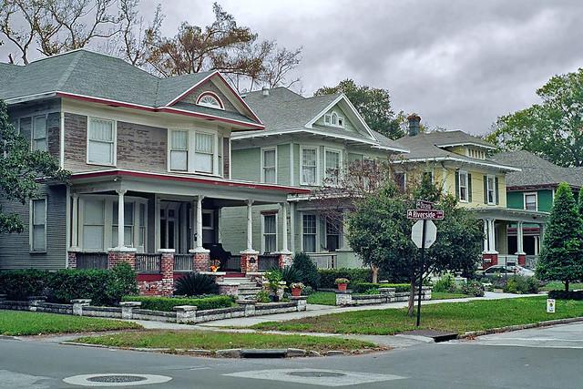 Neighborhood scene riverside jacksonville fl flickr photo sharing for Martin home exteriors jacksonville fl