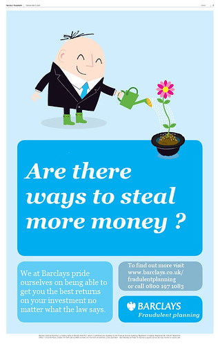 Are there ways to steal money we haven't thought of yet? - Barclays are working on it. | by Teacher Dude's BBQ