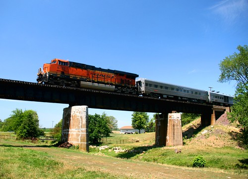 BNSF 6722 South of Ebner, IL 06-26-12 | by CNW 8701