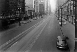 A Quiet State Street in 1942 | by cta web