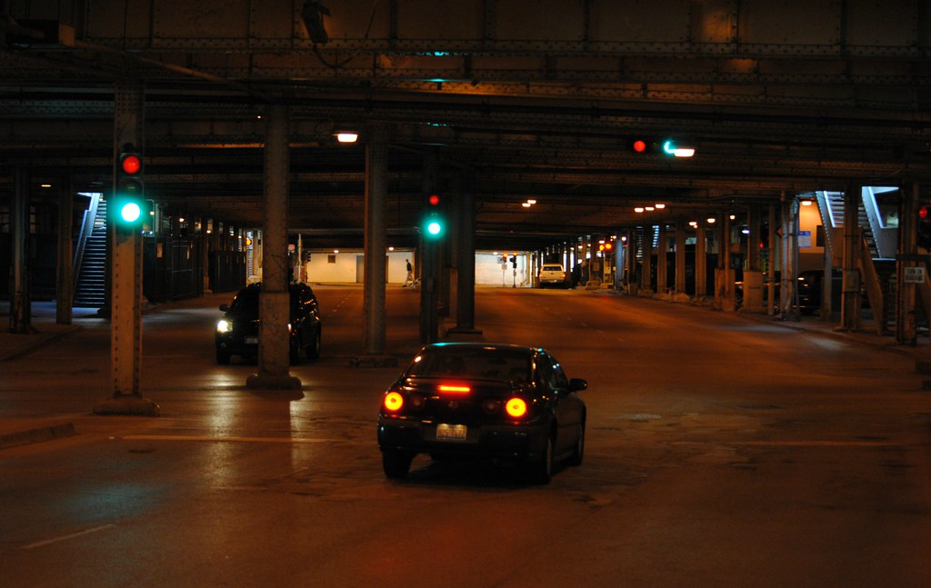Lower Wacker Drive Chicago Illinois Lower Wacker Drive