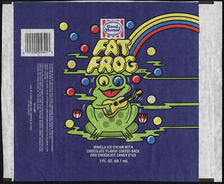 Good Humor - Fat Frog - ice cream bar unused wrapper - 1980's | by JasonLiebig