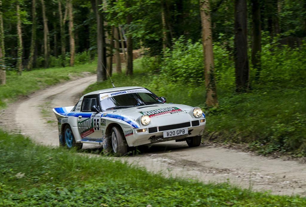 Mazda Rx7 Rally Car David Harding Flickr