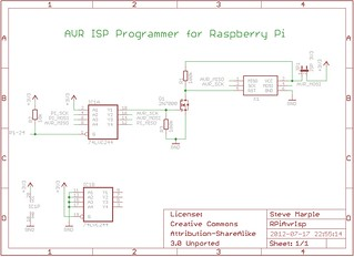 AVR ISP Programmer for Raspberry Pi | by Steve Marple