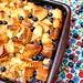Peach & Blueberry Bread Pudding