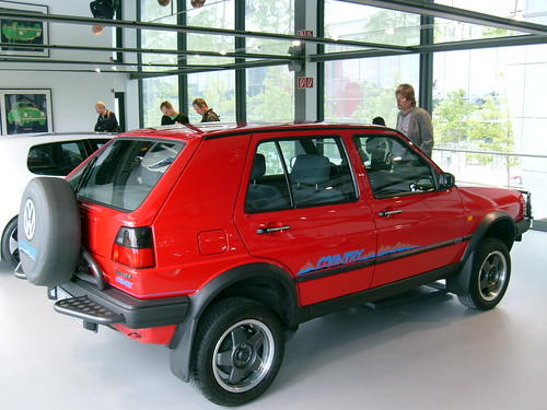 Volkswagen Golf Syncro Country Bruno Kussler Marques