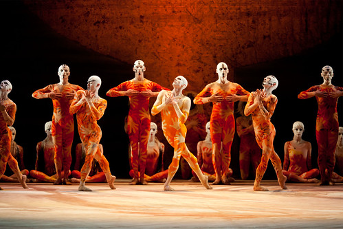 Members of The Royal Ballet in The Rite of Spring.  © ROH/Johan Persson 2011 | by Royal Opera House Covent Garden