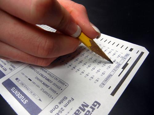 Standardized Test Close-Up