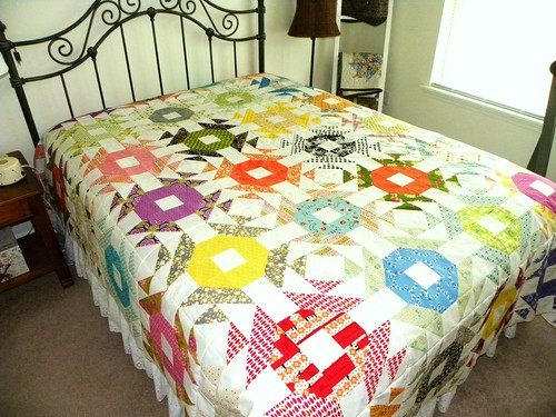 Pieced Top - Crown of Thorns (1) | by love2quilt7