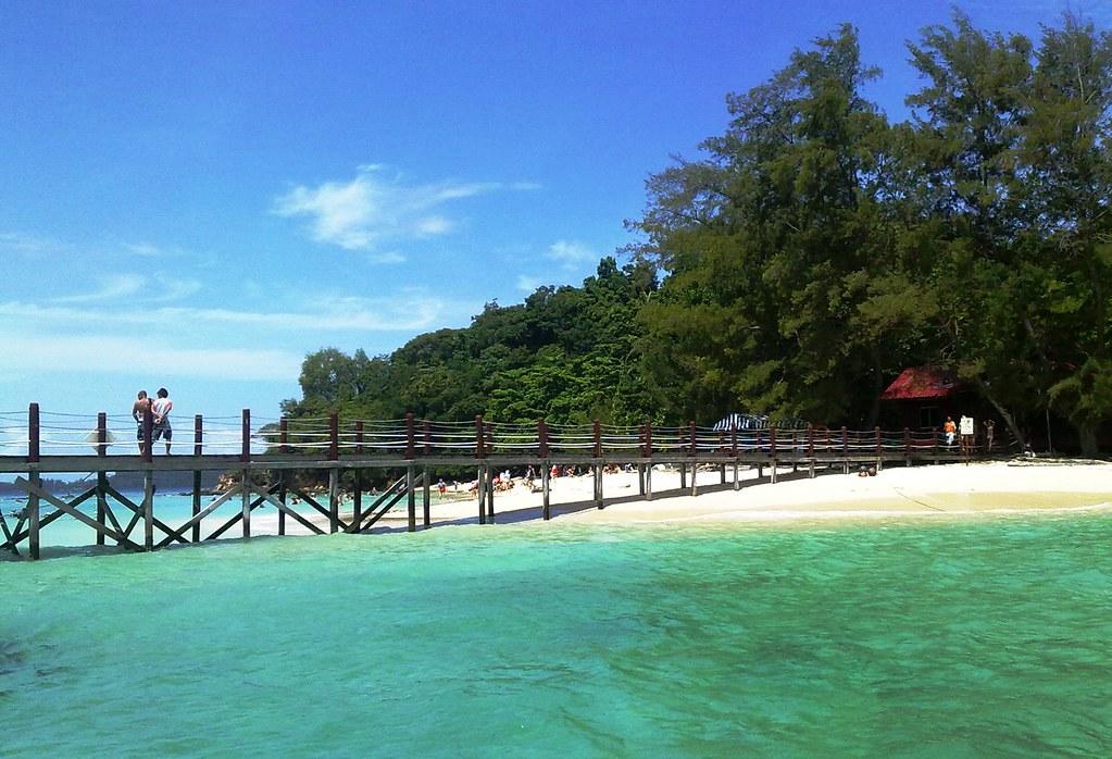 Island Park At Kota Kinabalu Sabah Malaysia Pulau Sapi P Flickr