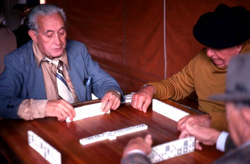 Cuban American men playing dominoes in Little Havana: Miami, Florida | by State Library and Archives of Florida