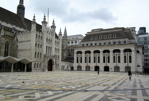 The Guildhall and the Roman amphitheatre | by Andy Worthington