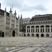 The Guildhall and the Roman amphitheatre