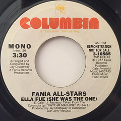 FANIA ALL-STARS:ELLA FUE(SHE WAS THE ONE)(LABEL SIDE-A)