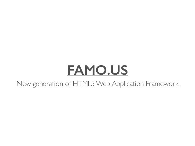 famous-new-generation-of-html5-web-application-framework
