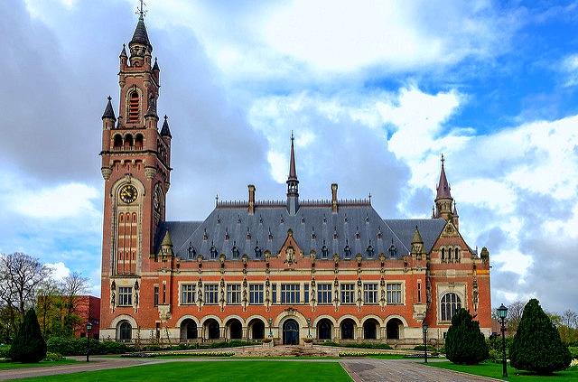 Palacio de la paz en La Haya (Holanda)