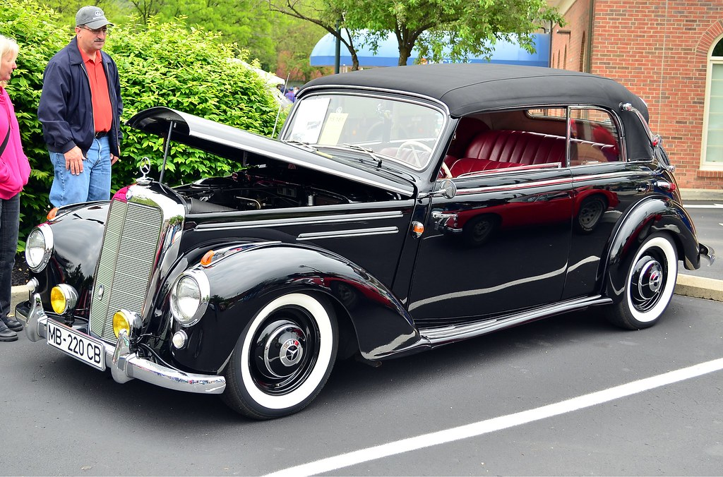1952 mercedes benz 220 cabriolet b scott597 flickr for Mercedes benz creator