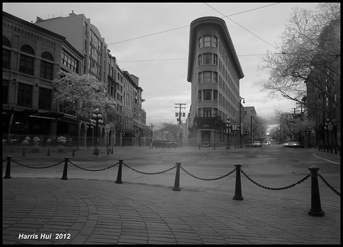 Infrared Gastown in B&W - Gastown X0518e | by Harris Hui (in search of light)