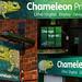 Chameleon Shop Front Signage Montage