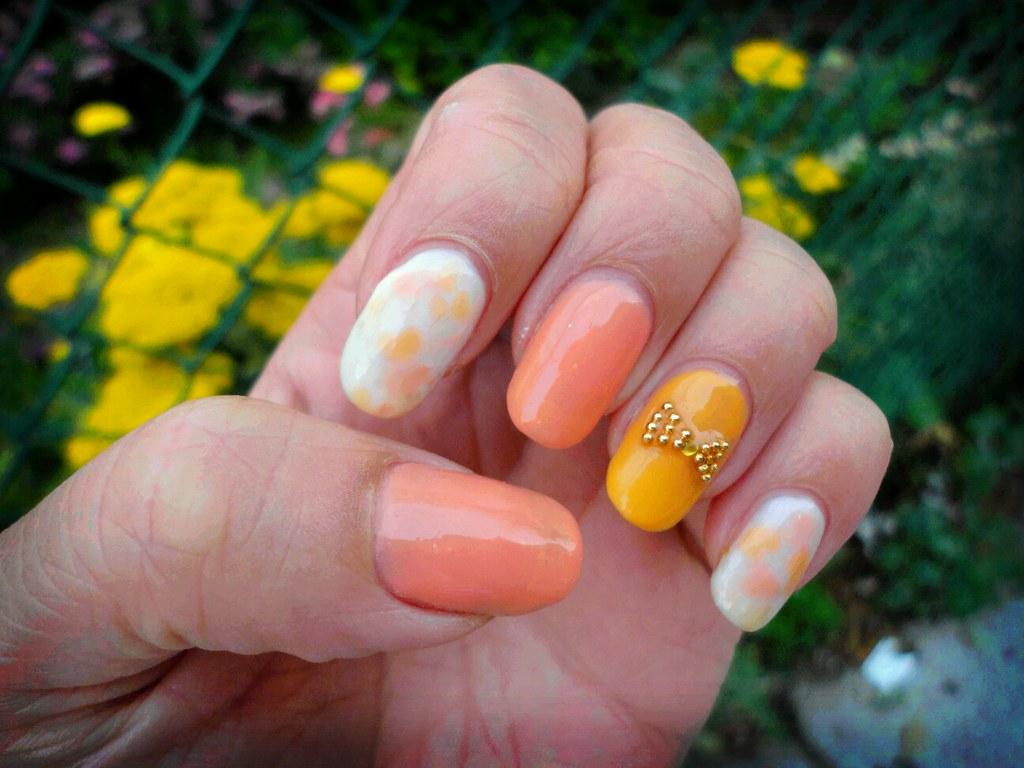 ... pre-summer cute nail design | by midoringo23 - Pre-summer Cute Nail Design Cute Gel Nail Design By Me!! Flickr