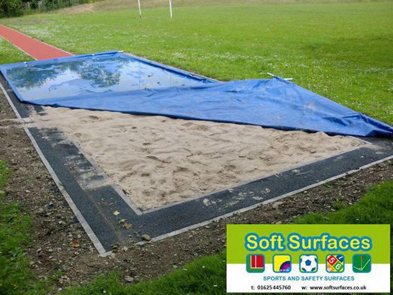 Long Jump Pit Long Jump Runway Sand Pit