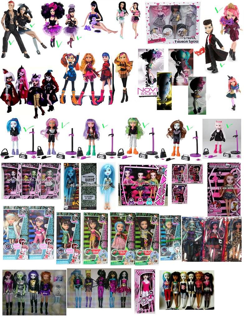 Monster High Namen