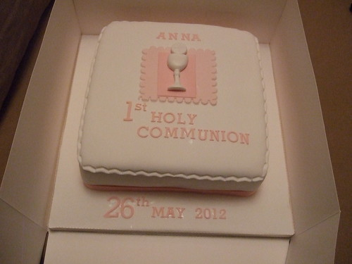 Girl Holy Communion Cake | by platypus1974