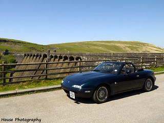 Claerwen Dam - MX5 | by {House} Photography