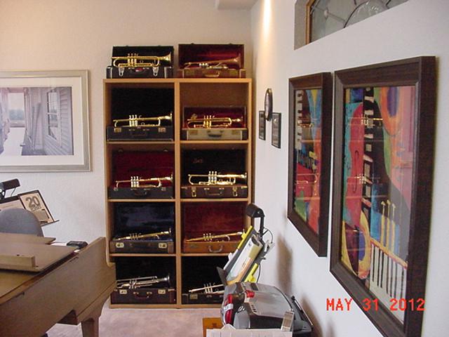 Trumpet display case 5-12 | slantws | Flickr
