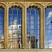 UK - Oxford - Bodleian window reflections corrected