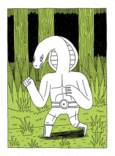 Snakeman Drawing | by Jack Teagle