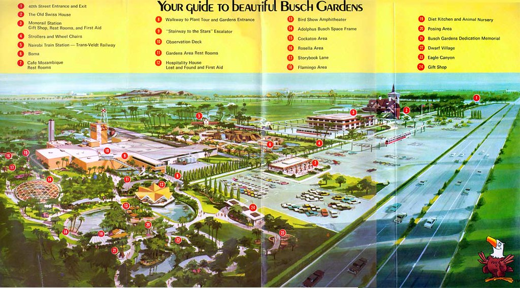 Busch Gardens (196x) | Tampa, FL © SeaWorld Courtesy: Theme … | Flickr