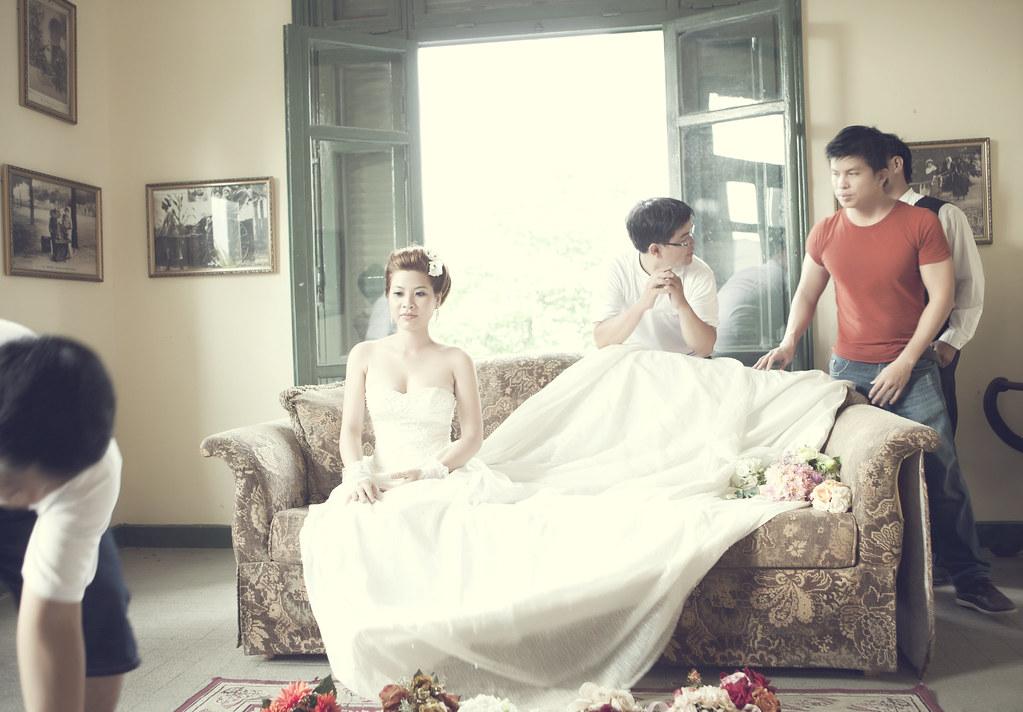 Behind Scenes Album Vintage Style Bride Groom Ly Ph Flickr